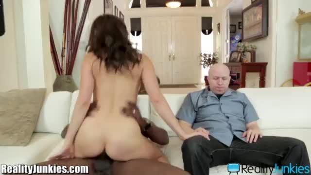 Make him cuckold banging in front of a cuckold