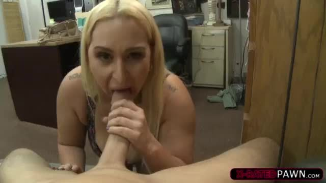 Office girl gets her pussy and ass fucked glasses jizzed