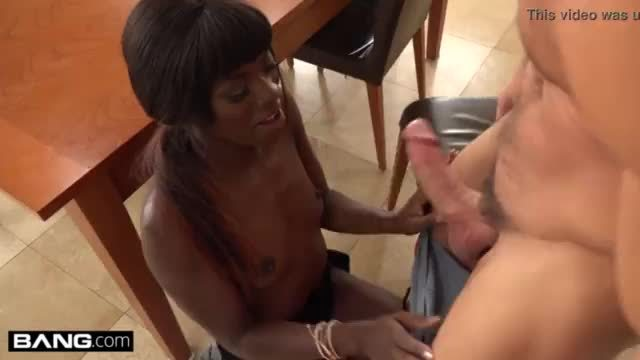 Makhalifa was looking for a big black cock to fuck