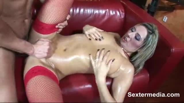 Alexis glory taking fat cock and facial cumshot