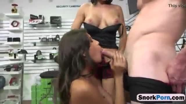Pledges stripped down then blowjob hard dick and make out