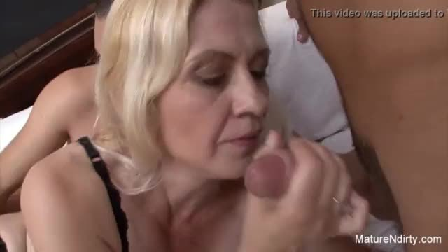 Lisa gets two loads on her face