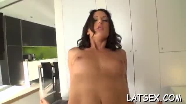 Gal is bestowing racy oral and lusty pecker riding