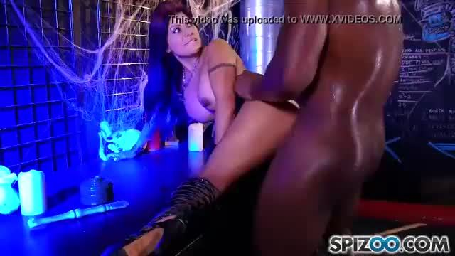 Chanel preston face fucks herself with that giant black snake