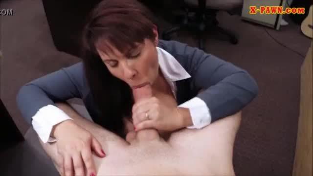Busty milf fucked to earn extra money