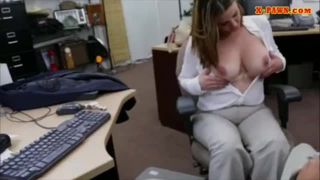 Business woman fucked by pawn man for plane ticket back home